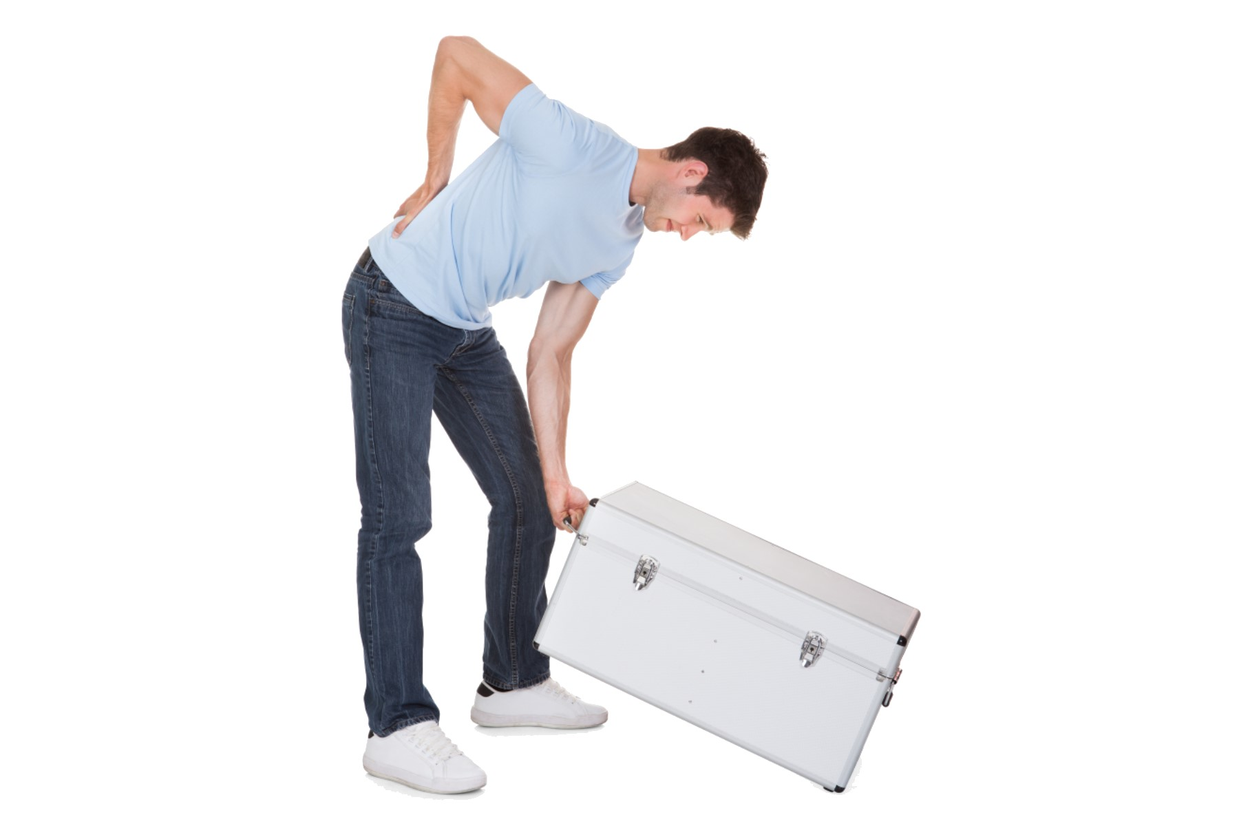 Back pain when lifting